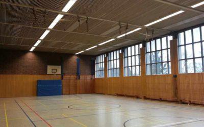 Impf- und Testzentren in Sporthallen